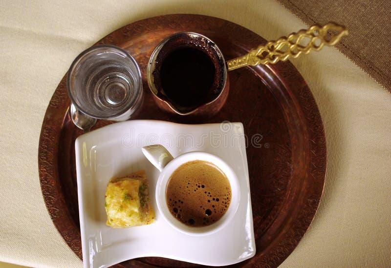 Traditionele koffie royalty-vrije stock afbeelding