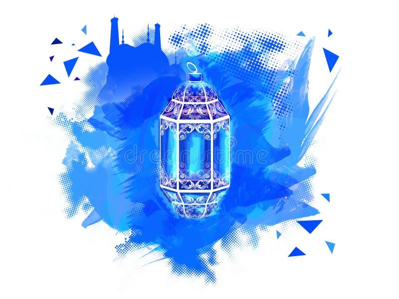Traditionele Lamp voor Ramadan Kareem-viering