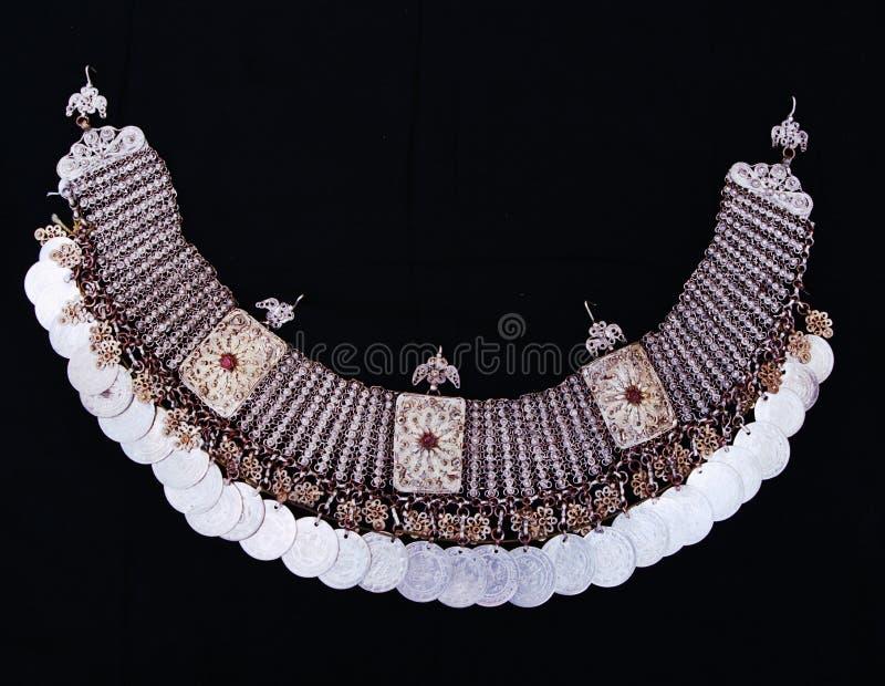 Traditionele Macedonische halsband stock foto