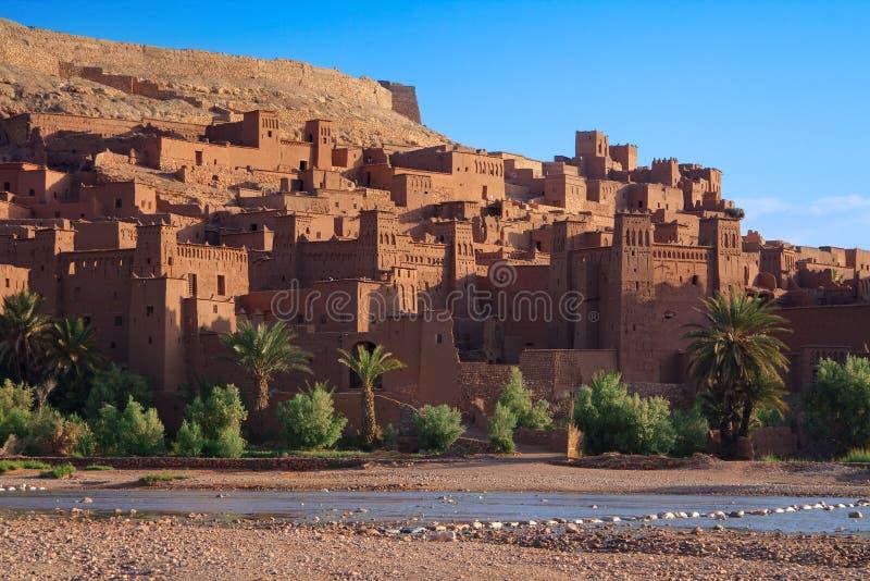 Traditionele Marokkaanse Casbah royalty-vrije stock fotografie