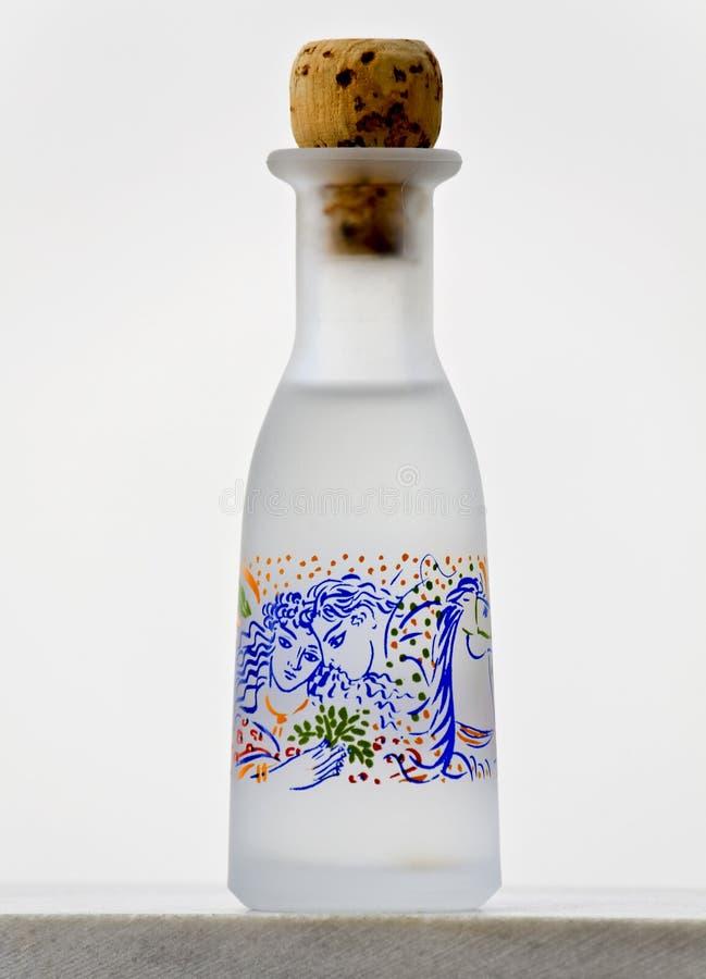 Traditionele met de hand gemaakte fles royalty-vrije stock fotografie