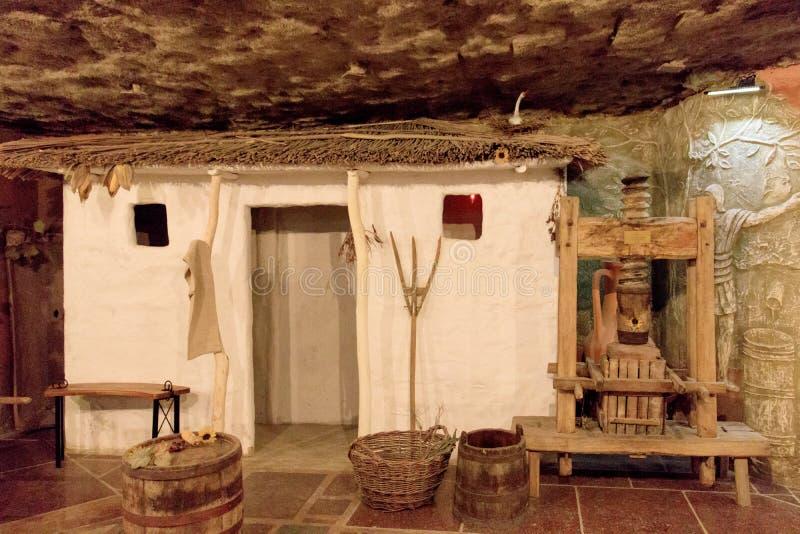 Traditionele Moldovische elementen stock afbeelding