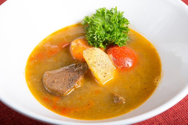 Traditionele Oezbekistaanse soep stock foto's