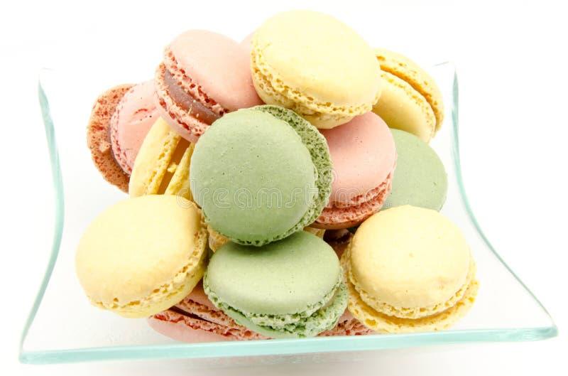 Traditionele Parijse macarons royalty-vrije stock foto