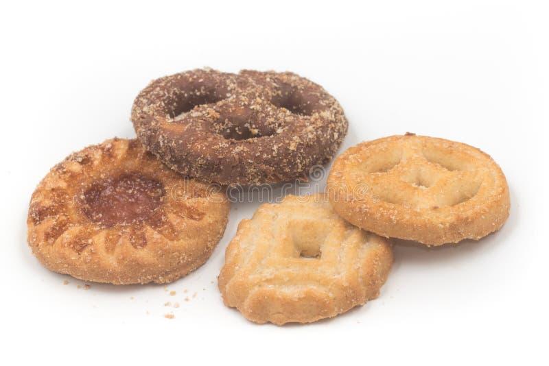 Traditionele Portugese koekjes royalty-vrije stock afbeelding