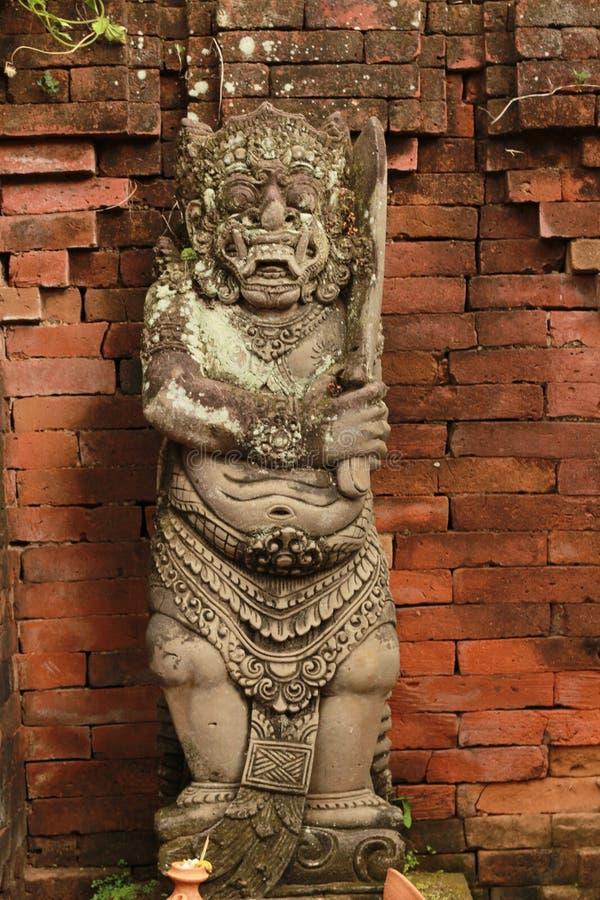 Traditionele steengravure stock afbeelding