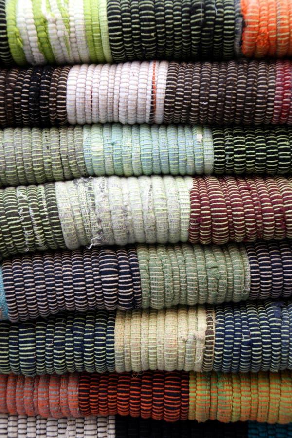 Traditionele tapijten stock foto's