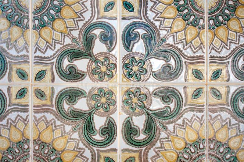 Traditionele tegels (azulejos) stock foto's