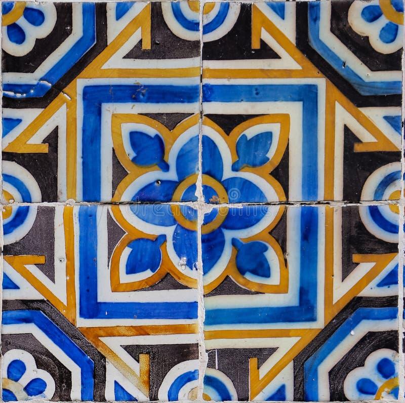 Traditionele tegels van Porto, Portugal stock foto's