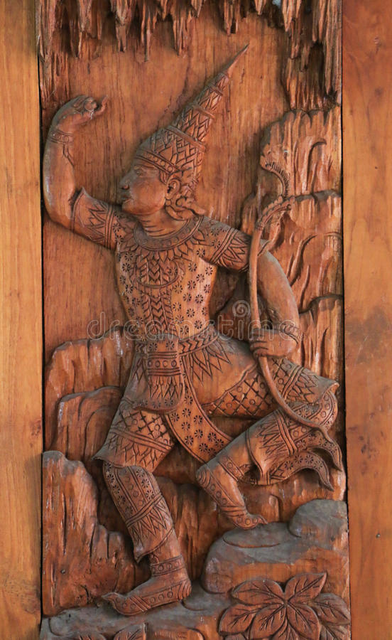 Download Traditionele Thaise Gravure Stock Foto - Afbeelding bestaande uit decoratie, east: 39117474