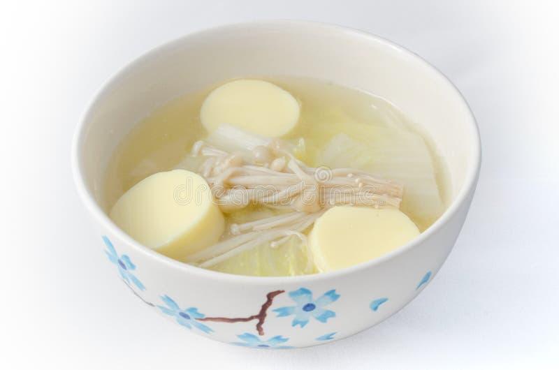 Traditionele Thaise milde soep stock afbeelding
