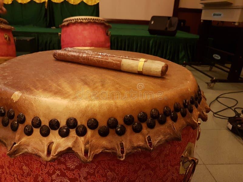 Traditionele trommel stock afbeelding