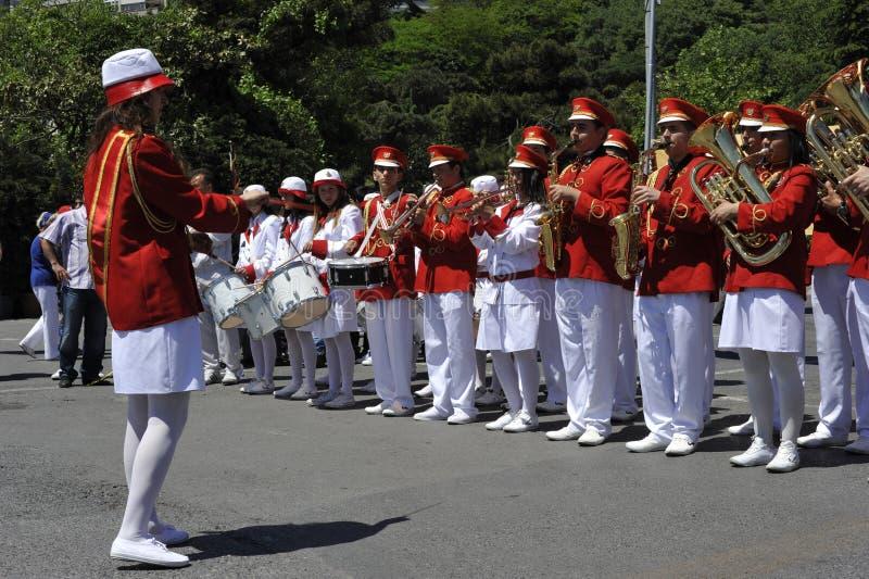 Traditionele Turkse het Marcheren Band royalty-vrije stock foto's