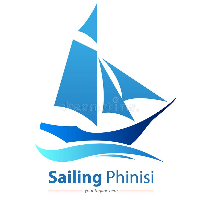 Traditionele Varende boot Phinisi stock illustratie
