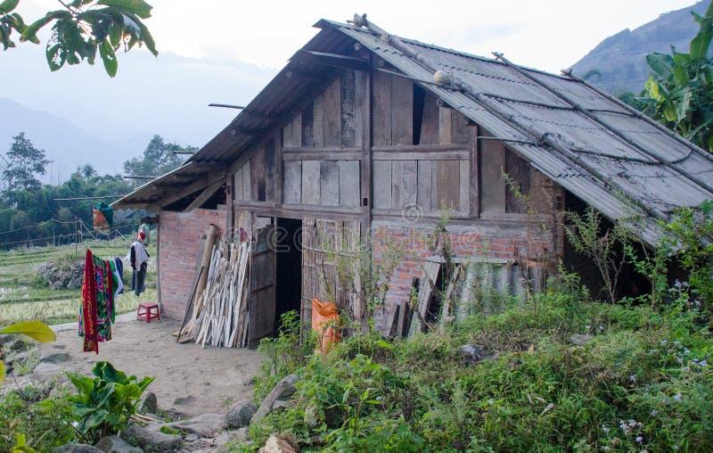 Traditionele Vietnamese Homestay stock afbeeldingen