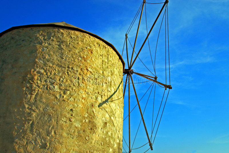 Traditionele windmolen stock foto's