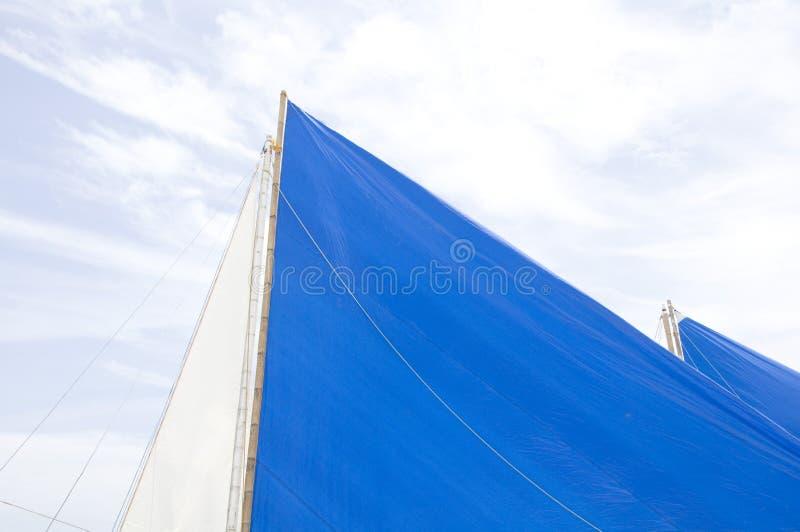 Traditionele Zeilboten op Boracay stock foto's