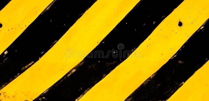 Traditionele zwart en geel royalty-vrije stock afbeelding