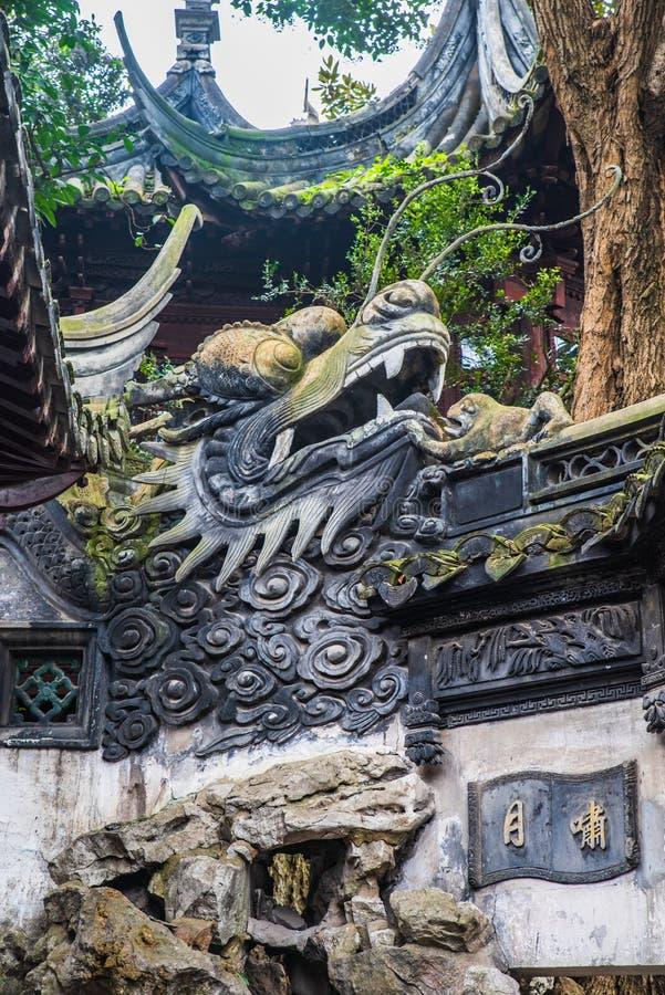 Traditionell arkitektur för kinesisk stil royaltyfri bild