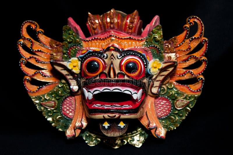 traditionell balinesemaskering royaltyfri bild