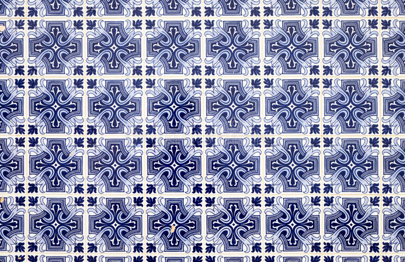 Traditionell blue portuguese tiles. A background from traditionell blue portuguese tiles seen in Lisbon stock images