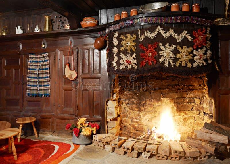 Traditionell bulgarisk spis royaltyfri fotografi