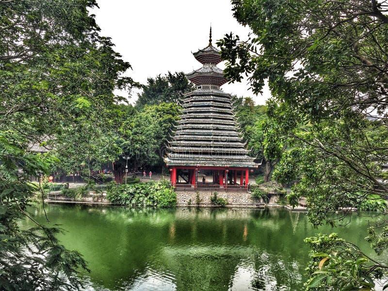 Download Traditionell Byggnad I Kina Arkivfoto - Bild av nära, trees: 76701248