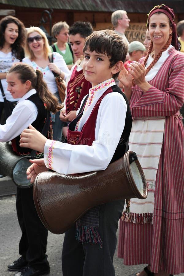 traditionell cyprus folk grupp arkivfoto