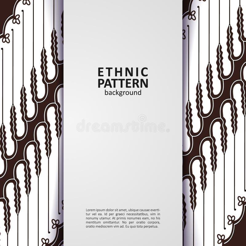 Traditionell design för geometrisk etnisk modell för bakgrund, tyg, vektorillustration stock illustrationer
