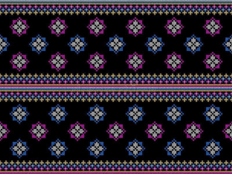 Traditionell design för geometrisk orientalisk ikatmodell för person som tillhör en etnisk minoritet för kläder för bakgrundsmatt royaltyfri fotografi