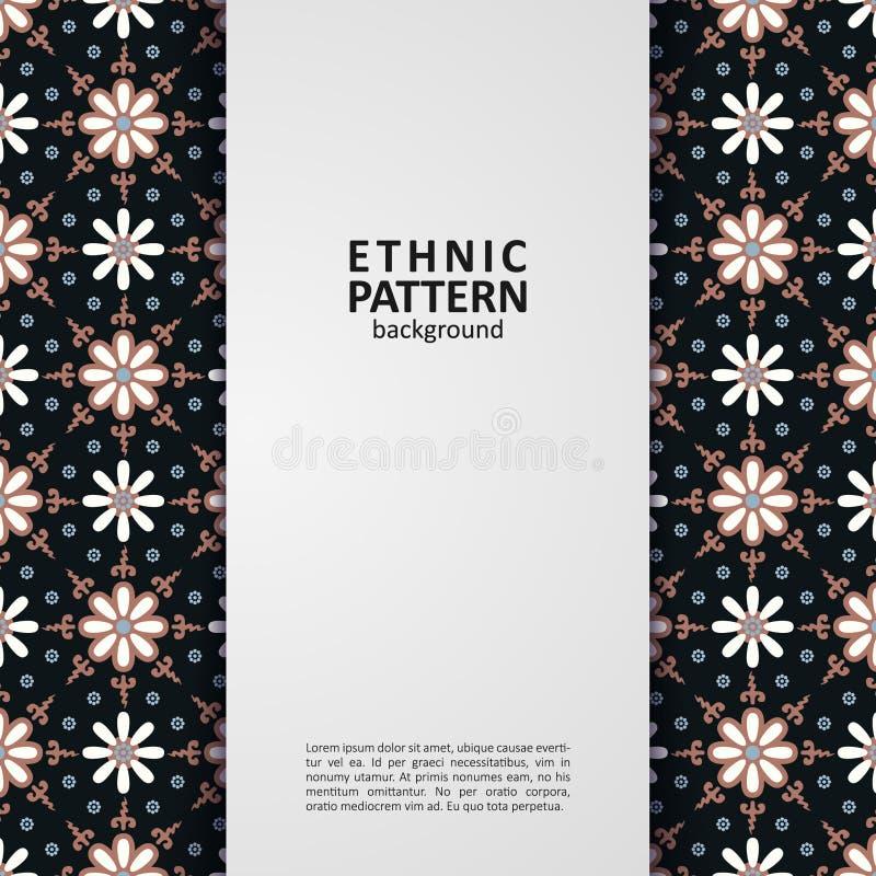 Traditionell design f?r geometrisk etnisk modell f?r bakgrund, tyg, vektorillustration stock illustrationer