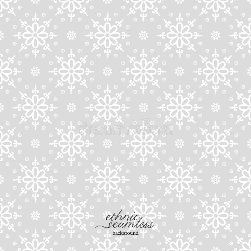 Traditionell design f?r geometrisk etnisk modell f?r bakgrund, tyg, vektorillustration royaltyfri illustrationer