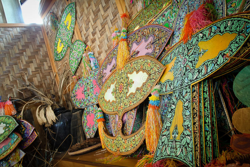 Traditionell drakenamnwau arkivbilder