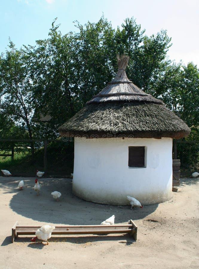 traditionell hutch royaltyfri bild
