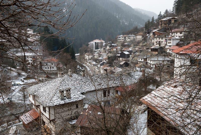 Traditionell by i Bulgarien royaltyfria foton