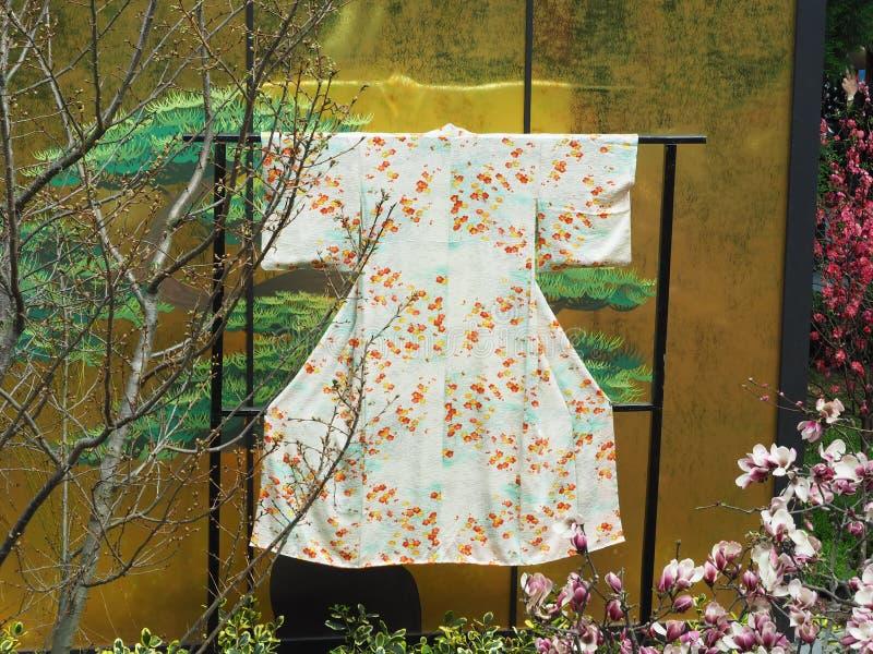 traditionell kimono arkivfoto