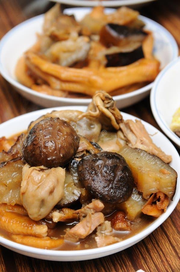 traditionell kinesisk kokkonst royaltyfri fotografi