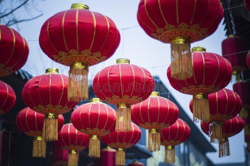 traditionell kinesisk lykta royaltyfria bilder