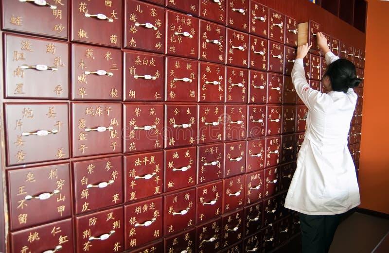 traditionell kinesisk medicin royaltyfria bilder