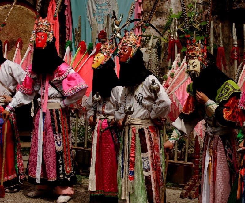 traditionell kinesisk theatre royaltyfri foto