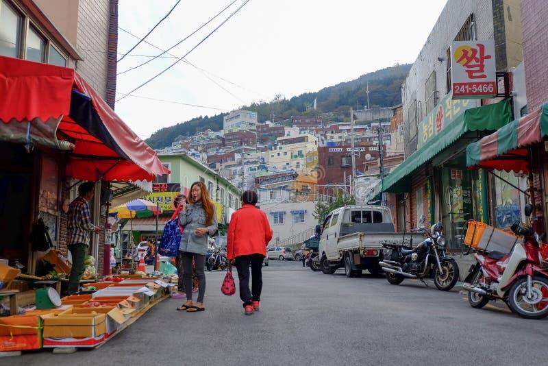 traditionell marknad fotografering för bildbyråer