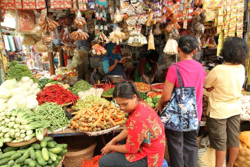 traditionell marknad arkivbild