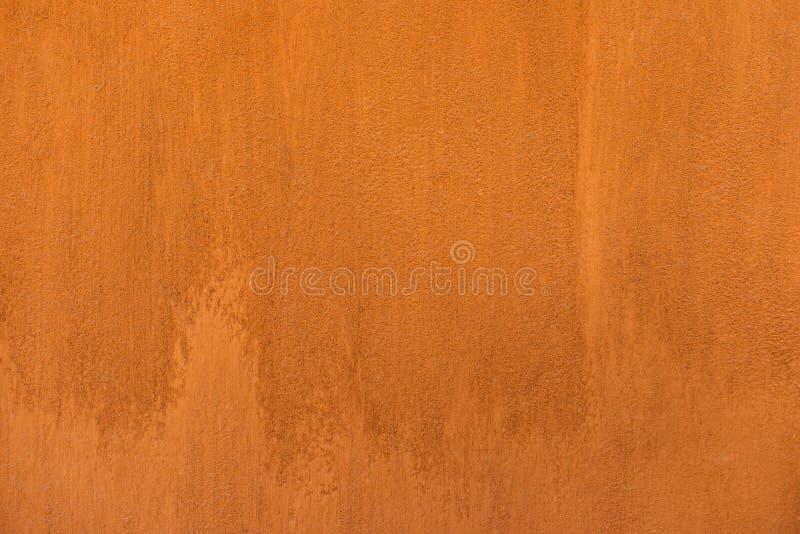 Traditionell moroccan terracotta-färgad bakgrund royaltyfria foton