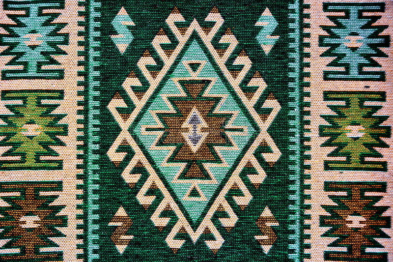 traditionell romanian filt royaltyfria foton