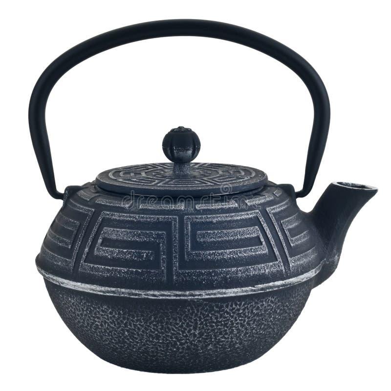 Traditionell tekanna för kinesisk järnsvart arkivfoton