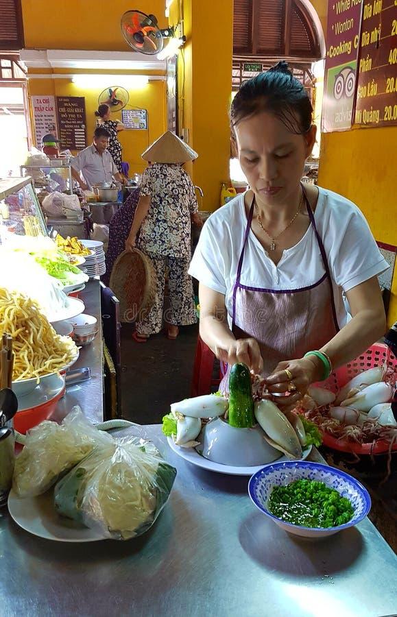 Traditionell Vietnam marknad arkivfoton
