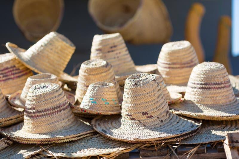 Traditionella berberhattar royaltyfri bild