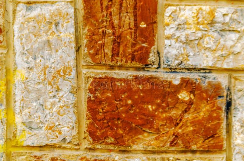 Traditionella dekorativa spanska dekorativa tegelplattor, original- cerami arkivbilder