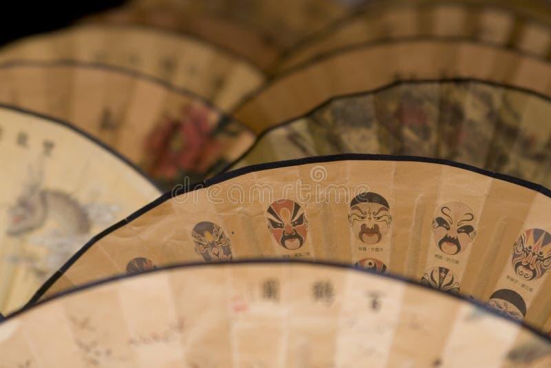traditionella kinesiska ventilatorer vektor illustrationer