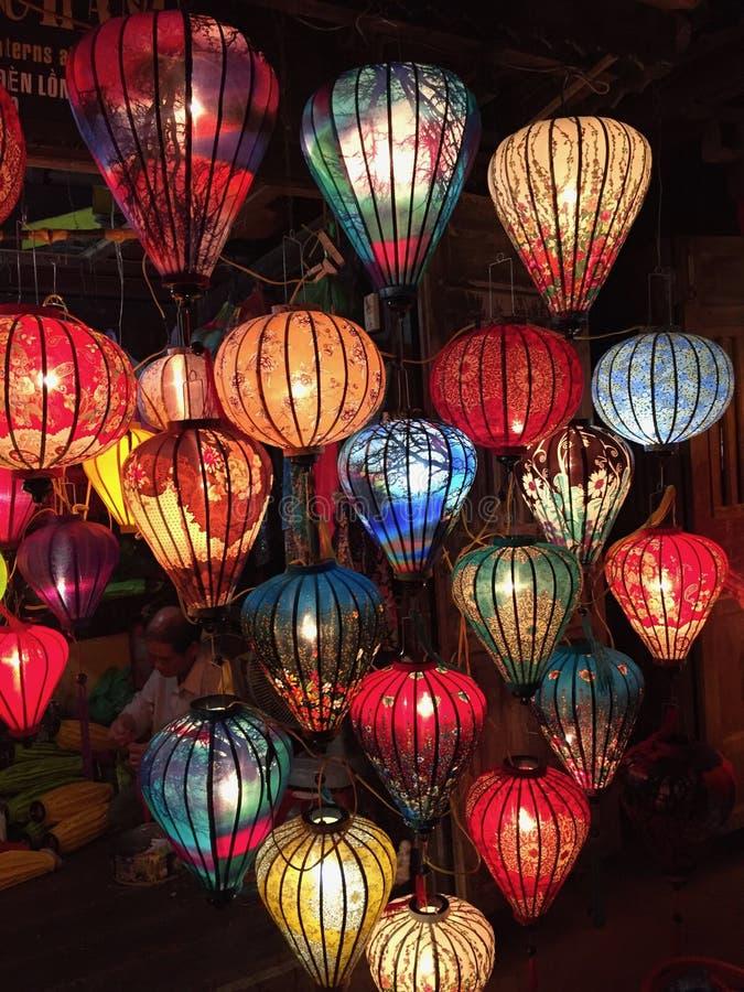 Traditionella lanters arkivbild